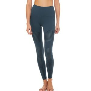 Alo yoga high waist moto legging size small